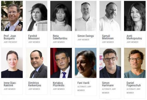 Η σύνθεση της Κριτικής Επιτροπής  του Διεθνούς Αρχιτεκτονικού Διαγωνισμού  για την Ανάπλαση του Εκθεσιακού Κέντρου Θεσσαλονίκης