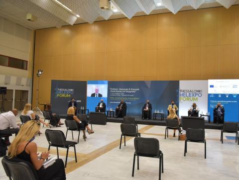 Thessaloniki Helexpo Forum: Ρευστότητα,  Χρηματοδοτικά εργαλεία και ΕΣΠΑ