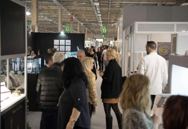 Higher numbers and an international feeling  at this year's Athens International Jewellery Show