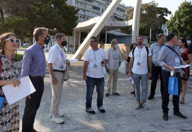 Συνεδριάζει στη Θεσσαλονίκη η Κριτική Επιτροπή  του Διεθνούς Αρχιτεκτονικού Διαγωνισμού  για την Ανάπλαση