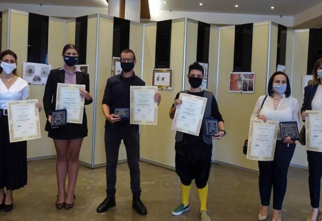 Βραβεύθηκαν οι διακριθέντες του 31ου Πανελλήνιου Διαγωνισμού Φιλοτέχνησης Σχεδίου Κοσμήματος