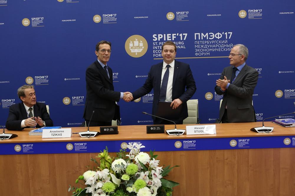 Αποτέλεσμα εικόνας για Η ΔΕΘ-Helexpo στο St. Petersburg International Economic Forum